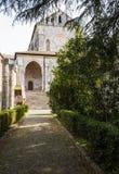 Casamari Abbey in Ciociaria, Frosinone, Italy. Casamari Abbey in Ciociaria, Veroli, Frosinone, Italy stock photos