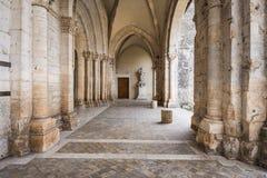 Casamari abbotskloster i Ciociaria, Frosinone, Italien Royaltyfria Foton