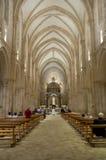 Casamari abbotskloster, Italien Arkivfoto