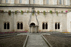 Casamari-Abtei, Italien lizenzfreie stockfotografie