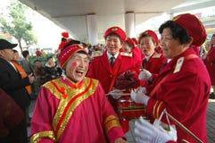Casamentero Shehuo de la mujer Imagen de archivo