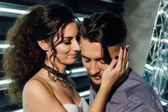 Casamento ao estilo da rocha Casamento do balancim ou do motociclista Fotografia de Stock