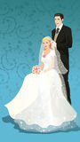 Casamento bonito Imagem de Stock Royalty Free