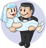 Casamento bonito fotografia de stock royalty free