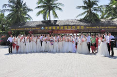 Casamento coletivo Fotos de Stock