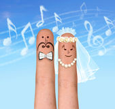 Casamento da música Foto de Stock Royalty Free