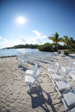 Casamento de praia tropical Imagem de Stock Royalty Free