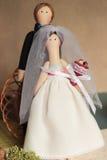Casamento do brinquedo Fotos de Stock