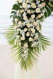 Casamento do destino na praia. Foto de Stock Royalty Free
