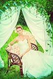 Casamento do país Fotografia de Stock