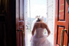 Casamento em Sibéria Foto de Stock Royalty Free
