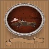 Casamento em um carro luxuoso Imagem de Stock Royalty Free