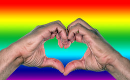 Casamento entre homossexuais Imagens de Stock Royalty Free