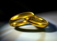 Casamento-faixas ilustração do vetor