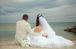 Casamento feliz fotos de stock royalty free