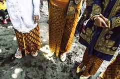 Casamento indonésio Foto de Stock