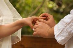 Casamento judaico Fotografia de Stock Royalty Free