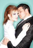 Casamento moderno 'sexy' Fotografia de Stock Royalty Free