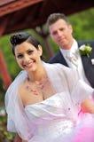 Casamento: Noiva e noivo Imagens de Stock Royalty Free
