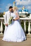Casamento novo dos pares Imagens de Stock