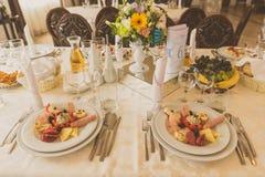 Casamento ou evento incorporado Imagem de Stock