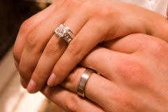 Casamento Ring-2 Imagem de Stock Royalty Free