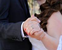 Casamento Romantics Fotografia de Stock