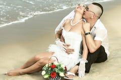 Casamento tropical Imagens de Stock Royalty Free