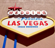 Casamentos de Las Vegas Imagem de Stock Royalty Free