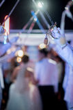 Casamentos militares Foto de Stock Royalty Free