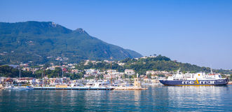 Casamicciola Terme, Ischia, Panoramic cityscape Royalty Free Stock Image