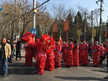 Casandose en Pekín, China 20 de marzo de 2016 Imágenes de archivo libres de regalías