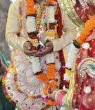 casandose en Rishikesh, noviembre de 2015 La India Fotos de archivo