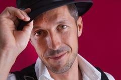 Casanova - άτομο με το καπέλο Στοκ Εικόνες