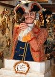 Casanova в музее Венеции Италии стоковые фотографии rf