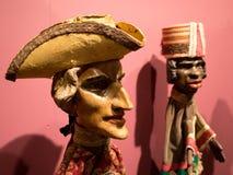 Casanova и африканские марионетки человека Стоковые Изображения