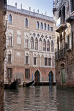 Casanova house in Venice, Italy Stock Photos