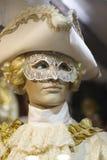 Casanova Mask in Venice Carnival Stock Image