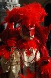 Casanova Schablone am Karneval von Venedig 2011 Stockbild