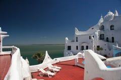 casapueblo del este hotellpunta uruguay Royaltyfri Bild