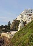 Casapueblo i Punta Ballena Royaltyfria Bilder