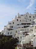 Casapueblo i Punta Ballena Royaltyfri Bild