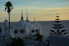 Casapueblo in Punta Ballena in Uruguay Royalty-vrije Stock Afbeeldingen