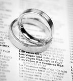 Casar-se em Las Vegas Foto de Stock