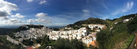 Casares in Andalusia Stock Foto