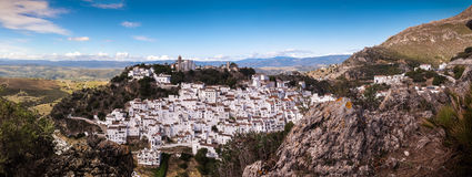 Casares in Andalusia Royalty Free Stock Photos