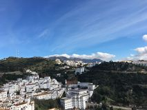 Casares in Andalusien Stockfoto