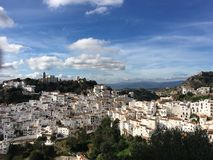Casares in Andalusien Stockfotos