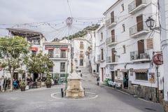 Casares, Malaga Zdjęcia Royalty Free