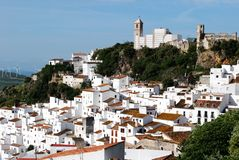 Casares Pueblo Blanco Stock Photography